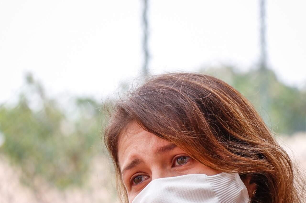 """Quando ouviu a palavra """"reanimação"""", Vivian sentiu uma facada no peito. (Foto: Henrique Kawaminami)"""