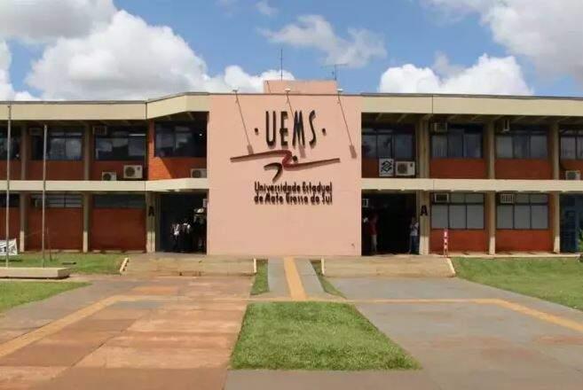 Campus da Uems, em Dourados. (Foto: Divulgação)