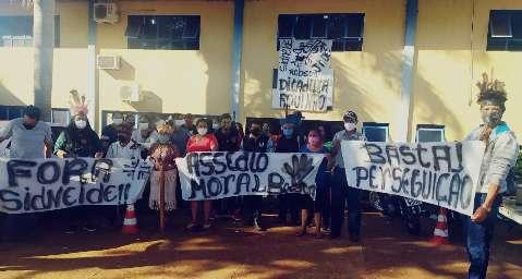 Índios acampados em polo da Sesai esperam para hoje exoneração de chefe local