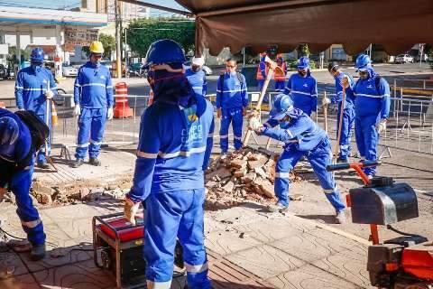 No centro, comerciantes assistem com expectativa e desconfiança 2ª fase de obra
