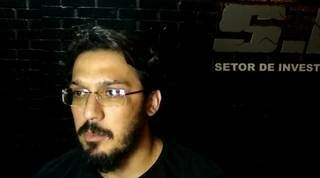 Delegaco Erasmo Cubas, responsável pela investigação. (Foto: Adilson Domingos)