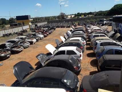 Detran realiza leilão de carros e motociletas com lances a partir de R$ 552