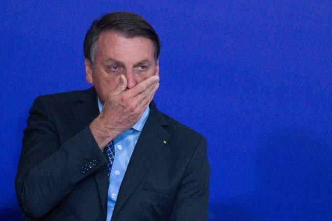 Presidente Jair Bolsonaro (sem partido) destaca que não há risco de apagão elétrico apesar do cenário crítico (Foto Getty Imagens)