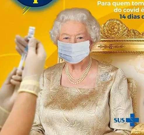 Erro faz sucesso e se torna chamariz de prefeitura em campanha para vacinação