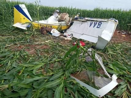 Perícia e remoção de corpos em local de acidente de avião só terminaram às 2h