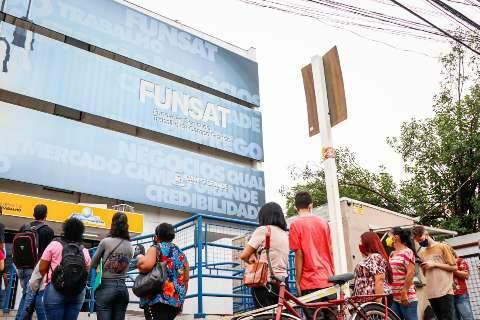 Para balconista e até encanador, Funsat está com 626 vagas de emprego