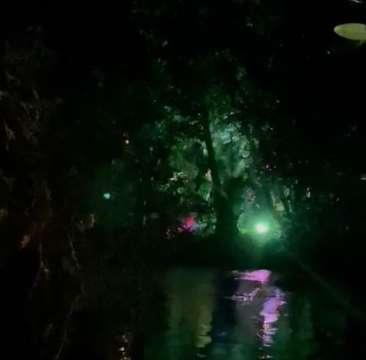 """PM acaba com festa """"rave"""" à margem de rio em Bonito"""