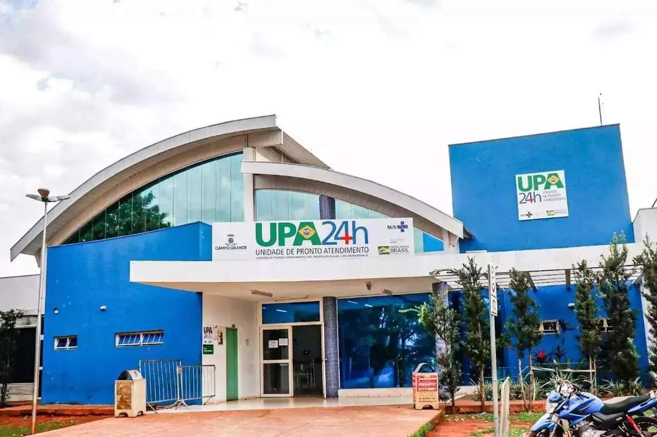 Pacientes recebeu primeiros atendimentos na UPA das Moreninhas (Foto: Campo Grande News/Arquivo)
