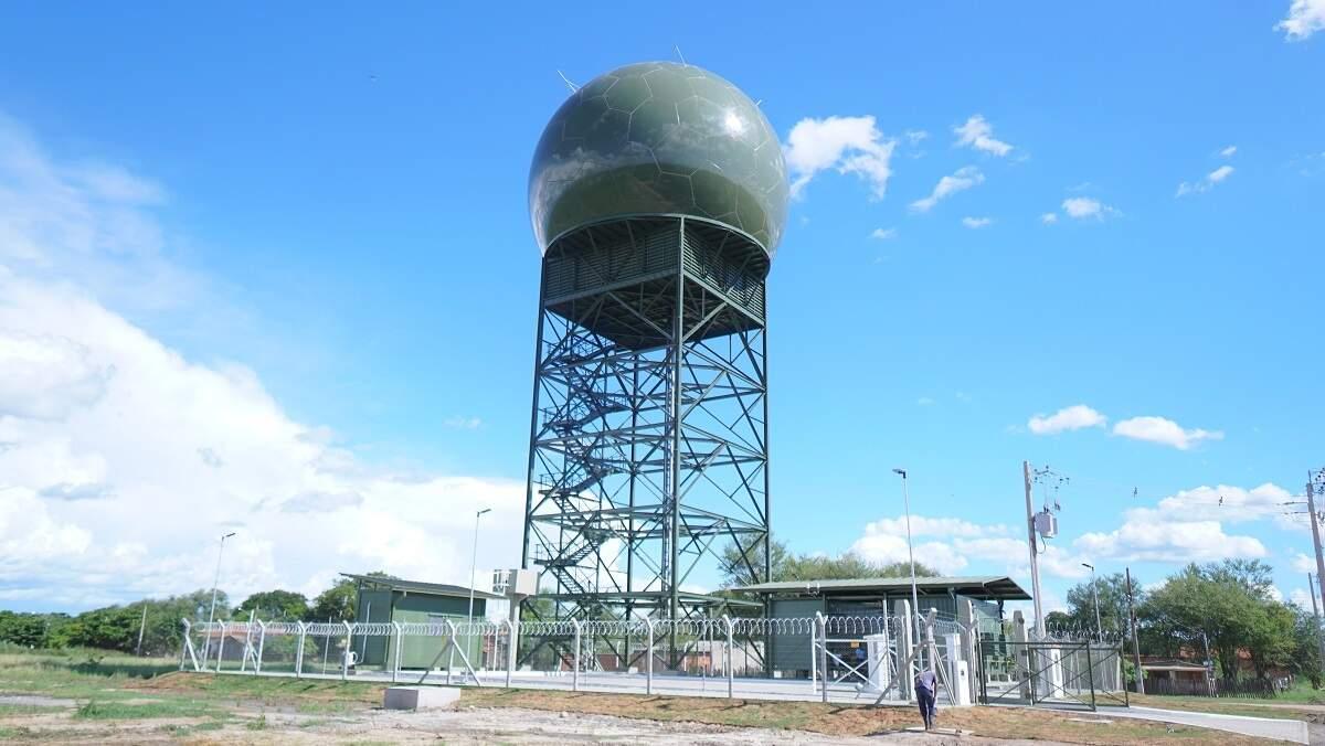 FAB coloca em funcionamento mais um radar de monitoramento do espaço aéreo na região de fronteira (Foto Divulgação)