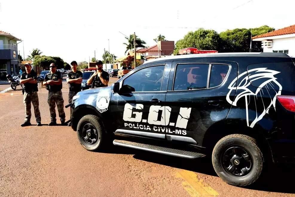 Ação foi organizada pelo Grupo de Operações e Investigações. (Foto: Divulgação)
