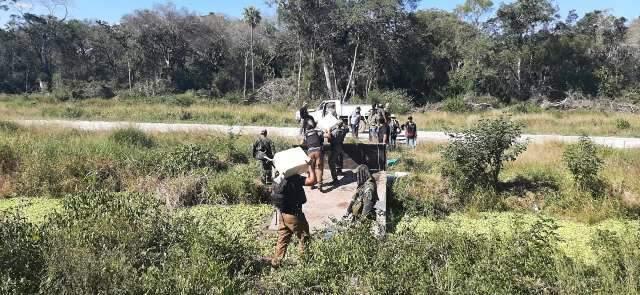 Polícia paraguaia encontra mega laboratório de cocaína a 60 km de MS