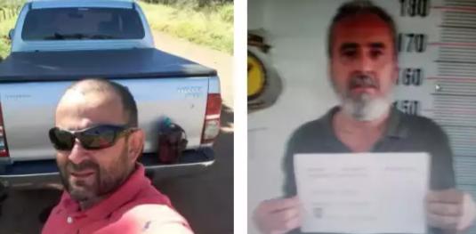 """Anderson Celin, à esquerda, e Alberto Aparecido, o """"Betão"""", à direita, foram assassinados em abril de 2016. (Foto: Arquivo/Campo Grande News)"""