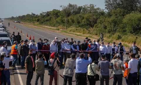 Paraguai entrega 74% de via asfaltada que integrará Rota Bioceânica