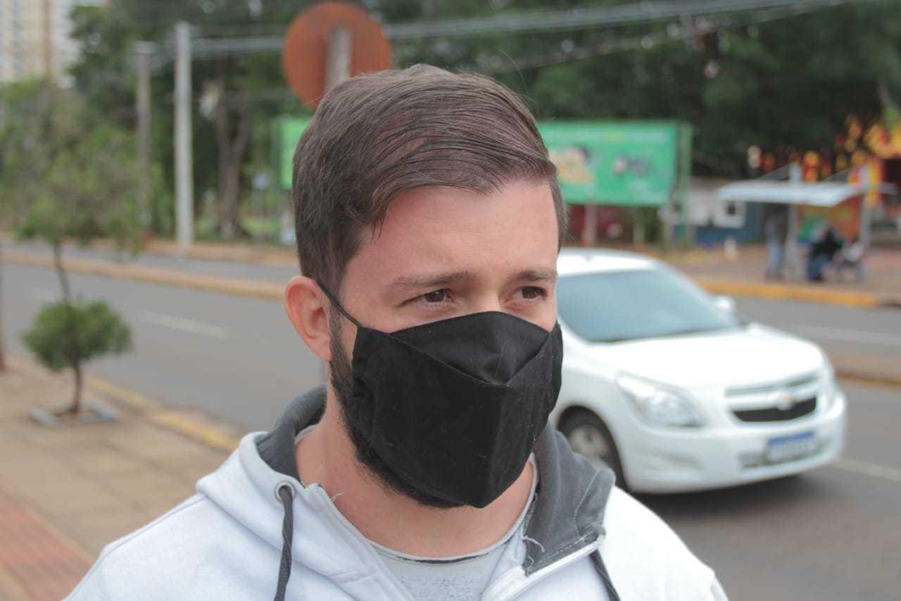 """Carlos diz que prova chama atenção e por isso fará de """"teste"""". (Foto: Marcos Maluf)"""