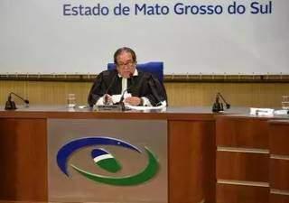 O presidente do TCE, Iran Coelho das Neves, um dos que assina a recomendação. (Foto: Divulgação)