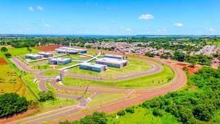 Vista aérea da Uems, em Campo Grande. (Foto: Chico Ribeiro)
