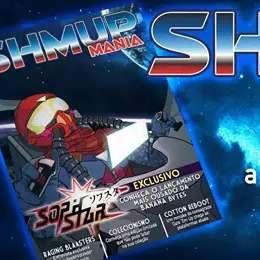 Shmup Mania é uma revista exclusiva para os jogos de navinha