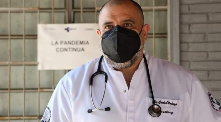 O médico paraguaio Carlos Morínigo (Foto: La Nación)