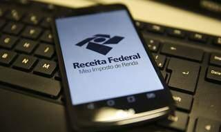 Aplicativo da Receita Federal, onde contribuindo pode fazer consulta (Foto: Agência Brasil)