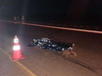 Condutor mata ciclista atropelado e foge sem presar socorro em rodovia