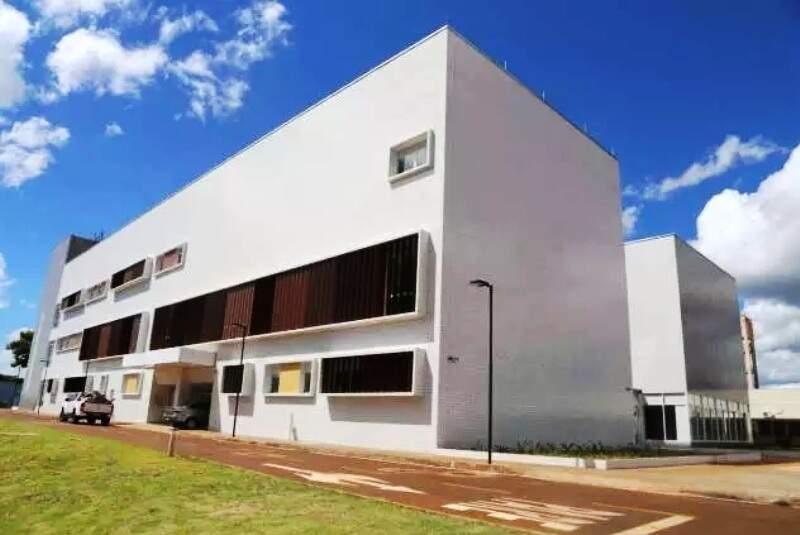 Bloco inaugurado em março no HU de Dourados vai receber novos leitos de UTI (Foto: Divulgação)