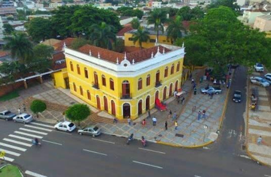 Vista aérea da Morada dos Baís, na Avenida Afonso Pena. (Foto: Divulgação/Sesc)