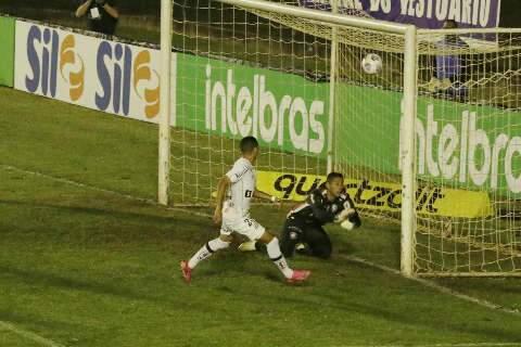 Santos bate Cianorte e abre boa vantagem por vaga nas oitavas da Copa do Brasil