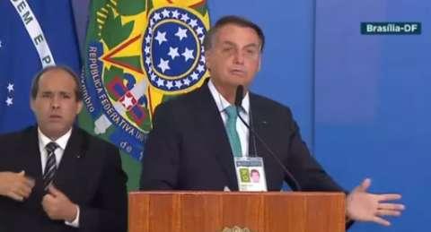 Bolsonaro erra nome de MS e provoca piadas virtuais