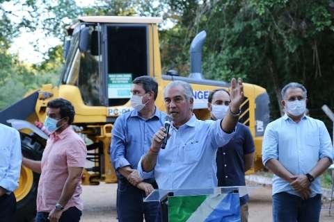 Reinaldo dá início a reforma que vai comemorar os 40 anos do Parque dos Poderes