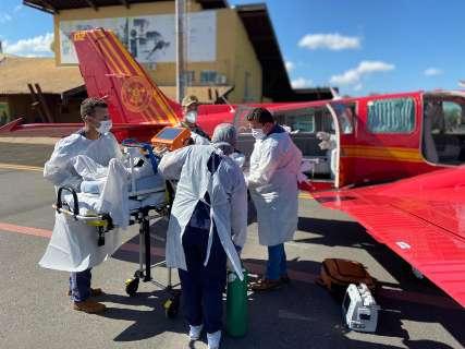 Mais 19 pacientes são transferidos para UTIs em Rondônia e Espírito Santo