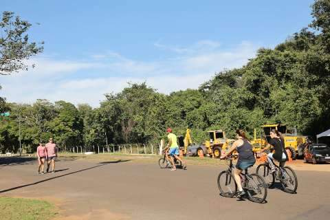 Frequentadores aprovam obras previstas para o Parque dos Poderes