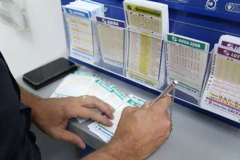 Aposta feita no Nova Lima fatura R$ 67 mil na quina da Mega-Sena