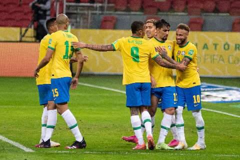 Brasil derrota o Equador e mantém a liderança das Eliminatórias da Copa de 2022