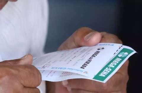 Confira as dezenas sorteadas pela Mega-Sena neste sábado