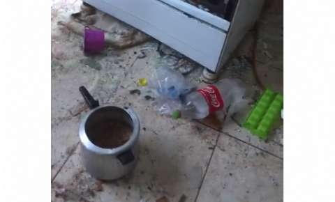 Homem destroi a casa da ex após tentar matá-la a facadas