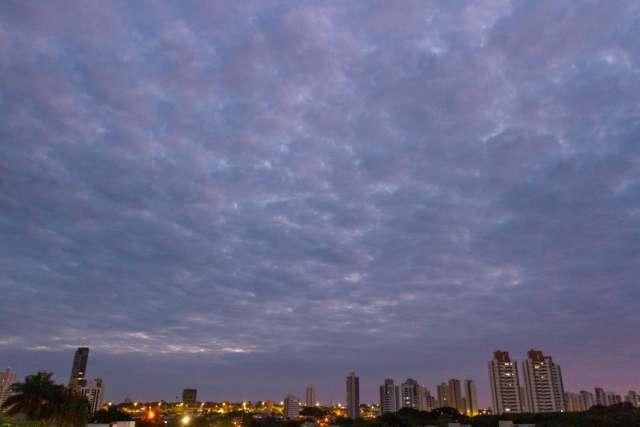 Segunda será de céu nublado em grande parte de MS e máxima de 32ºC na Capital