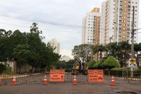 Obras de revitalização começam e interditam trecho da Rui Barbosa