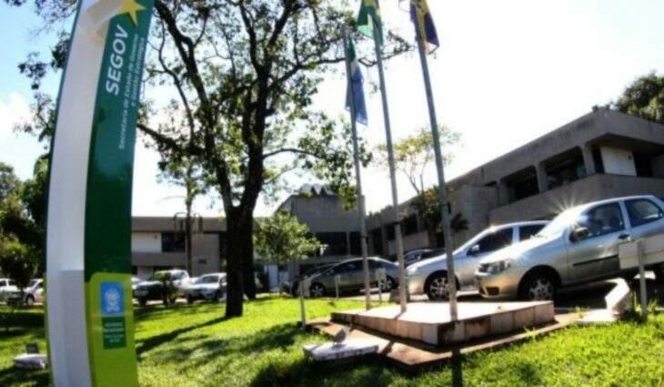 Fachada da sede da Segov, onde ocorre da reunião (Foto: Edemir Rodrigues/Arquivo/Ascom)