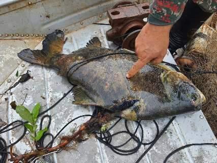 Pescadores perdem até barco em acampamento ilegal