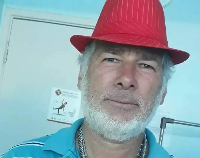 O caminhoneiro Antoninho Muller, 1º douradense morto pela covid (Foto: Arquivo)