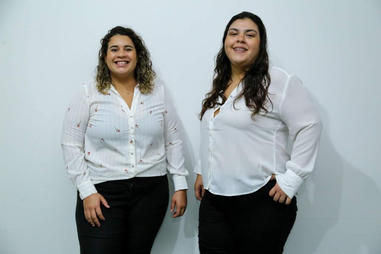 Janaína e Isabele são sócias no novo negócio. (Foto: Kísie Ainoã)