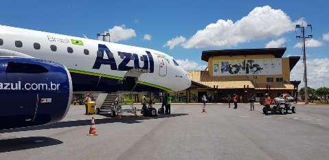 Aérea vai reforçar frequência de voos para Bonito em julho