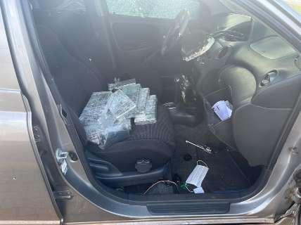 Traficante saca arma para policiais e leva três tiros de fuzil na fronteira