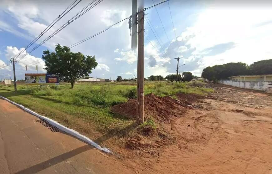 Imagem de uma das áreas listadas no projeto, no Jardim Ouro Verde (Foto: Google Maps/Reprodução)