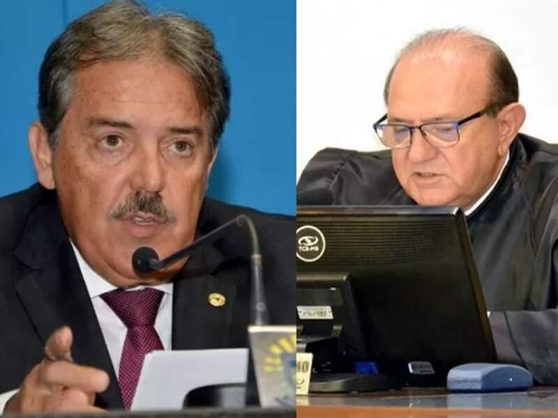 Ex-deputado estadual Antônio Carlos Arroyo e conselheiro Osmar Jeronymo.