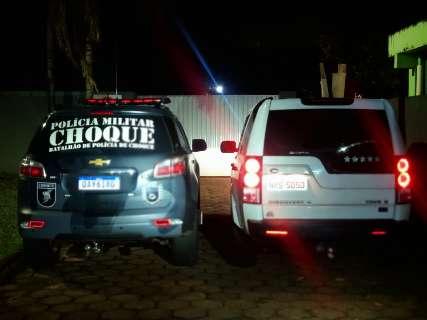 Choque recupera Land Rover roubada por trio na Vila Carlota