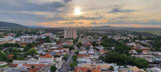 Vista aérea de Corumbá. (Foto: Divulgação)