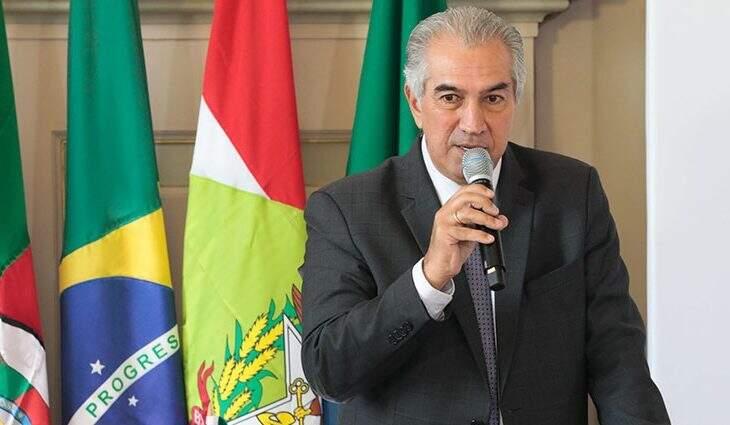 Reinaldo Azambuja sugeriu a criação de ações em saúde conjuntas ao Ministério da Saúde (Foto: Itamar Aguiar/Governo do RS)