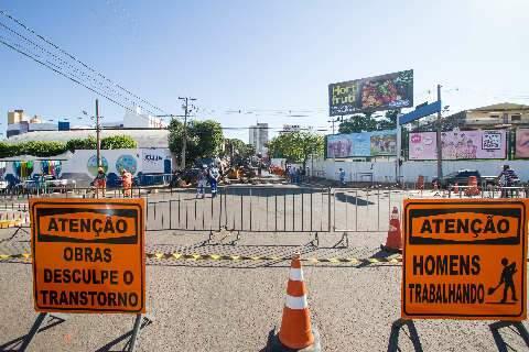 Prefeitura orienta o uso de rotas alternativas durante obras na Capital