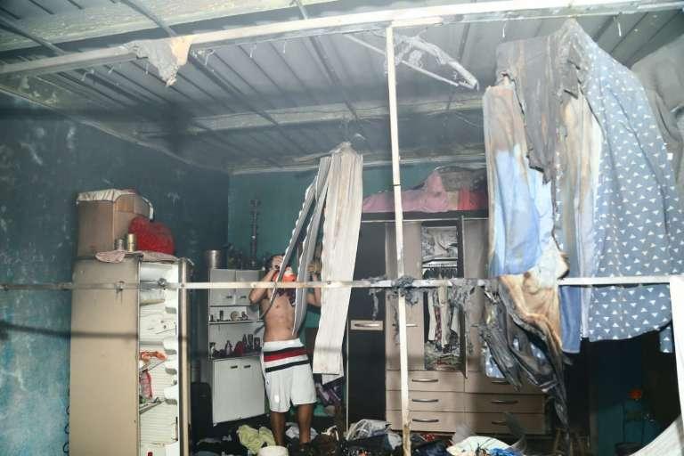 Com mãe intubada com covid, enfermeiro tem quarto destruído em incêndio